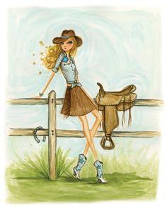 Cowgirl by Bella Pilar
