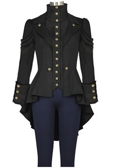 Steampunk Jacket Chic Star