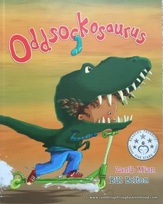 Oddsockosauraus from Sweet Apple publishing - a book review
