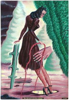 Romance of Canada: new work by Ryan Heshka [NSFW] / Boing Boing
