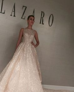 Beautiful Lazaro Ball Gown Wedding Dresses For Awesome Wedding Wedding Gown lazaro wedding gowns Lazaro Wedding Dress, Bohemian Wedding Dresses, Wedding Dresses Plus Size, Wedding Gowns, Sparkly Wedding Dresses, Lazaro Bridal, Backless Wedding, Ball Dresses, Ball Gowns