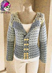 Ravelry: Glamour Broomstick Lace Jacket pattern by Glamour4You - In My Ravelry Library
