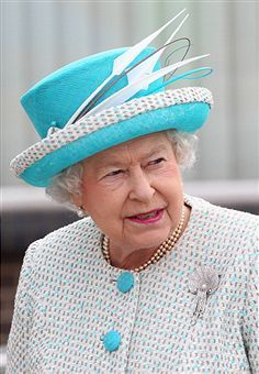 The Queen's delightful hat!