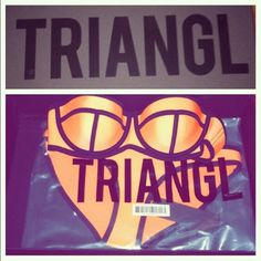 Triangl bathing suit Orange Bathing suit triangl swimwear Swim Bikinis