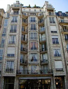 Auguste Perret. Apartamentos de la calle Franklin