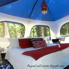 GLAMPING = Glamorous Camping @ Lake Arrowhead, California - June 2012