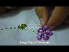 The Art of Bead Embroidery by Masnies Stitches & Craft Boutique - YouTube