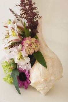 Conch Shell Fresh Flower Boutiques