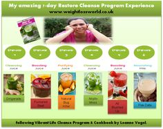 My review of Vibrant Life Cleanse Program & Cookbook (7-9 and 11 day cleanse program with original recipes)