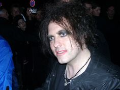 Robert Smith, lead vocals of The Cure.