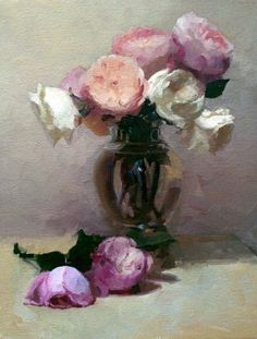 Late Bloomer. Oil on canvas. Dennis Perrin