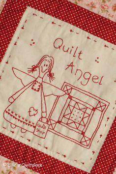 Stitchery, vrolijke lapjes en lachende gezichtjes... de perfecte ingrediënten voor gezellige mini quiltjes. Ken jij de engeltjes van onze Angelcollectie al?