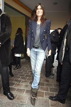 Emmanuelle Alt. How badass does she look?