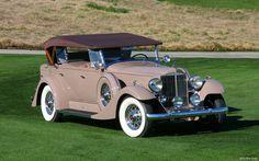 1933 Packard Super 8 Dual Cowl phaeton