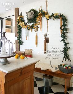 It's Christmas time.  11 easy and beautiful decorating tips and tricks!