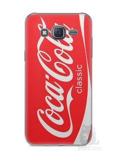 Capa Capinha Samsung J5 Coca-Cola - SmartCases - Acessórios para celulares e tablets :)
