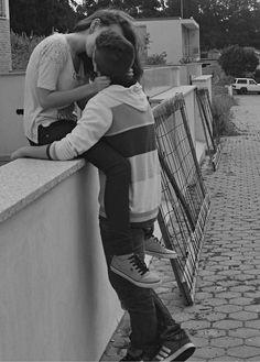 Ugh adorable black and white tumblr couple