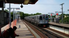 """The """"El"""" NB Red Line from Sheridan"""