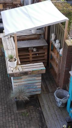 Beachbar From Pallets Made By Mijoqui