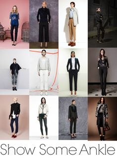 Pre-Fall 2014 Fashion Trends - Show Some Ankle