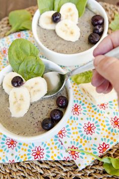 New Absolutely Free Blueberry Coconut Milk Smoothie Bowl Strategies Healthy Smoothie Recipe Everybody loves a great smoothie , but not everybody really thinks about th Easy Healthy Breakfast, Breakfast For Kids, Healthy Snacks, Breakfast Recipes, Snack Recipes, Healthy Recipes, Blender Recipes, Healthy Breakfasts, Healthy Drinks