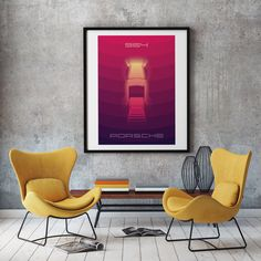 Excited to share the latest addition to my #etsy shop: Porsche 964 poster art, ideal for livingroom or diningroom, porsche wall art, printable art Gold Art, Poster Wall, Wall Art, Printable Wall Art Etsy, Poster Art, Art