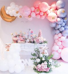 Party Decorations for Birthdays & Baby showers. We are known for Balloon Decoration for Birthday Party in Hyderabad in different themes and designs. Baby Shower Balloon Decorations, Baby Shower Balloons, Balloon Garland, Birthday Party Decorations, Party Themes, Party Ideas, Balloon Backdrop, Balloon Wall, Pastel Party Decorations