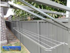 Clothes line Clothes Line, Outdoor Furniture, Outdoor Decor, Outdoor Storage, Outdoors, Home Decor, Decoration Home, Room Decor, Outdoor