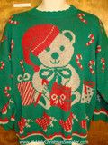 Just the right size for your man. He'll love it. #uglysweater from www.MyUglyChristmasSweater.com