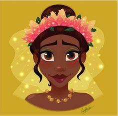 Rocio's Belen Ferreiro Art Princess-Beauty-Case Disney Tiara