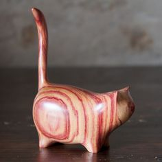 Martha cat in Tulipwood by Perry Lancaster