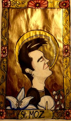 st Moz, patron of those needing to be loved, just like everyone does.-cmeisterartz 2016