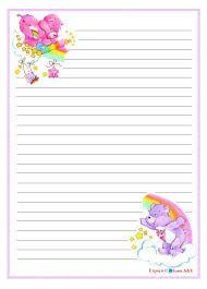 papel de carta ursinhos carinhosos - Pesquisa Google
