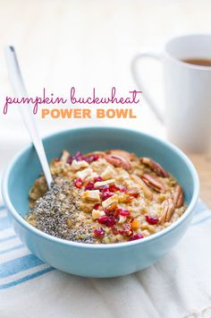 Pumpkin Buckwheat Power Bowl