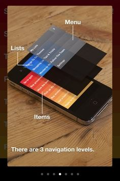 User Interface / Clear - excellent interface design