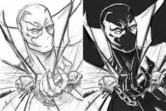 Spawn sketch by Anto Donnell