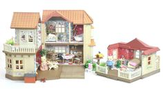 Fistuff Sylvanian Families Decorated Large House Family Conservatory Huge LOT   eBay