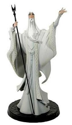 Lord of the Rings Gentle Giant Animated Style Maquette Saruman $52.45