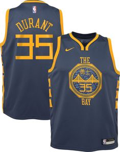 Nike Youth Golden State Warriors Kevin Durant Dri-FIT City Edition Swingman  Jersey 7bbcfdd45