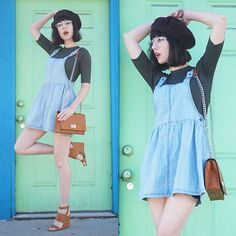 Amy Roiland - Forever21 Dress, Forever 21 Bag - Colorful Walls/ Colorful Days