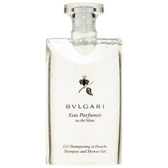 What it is: A soothing shampoo and shower gel with the relaxing, delicate scent of Eau Parfumée White Tea.  What it does: This relaxing shower gel gently cleanses while imparting a delicate, unisex fragrance. The soothing white tea scent com