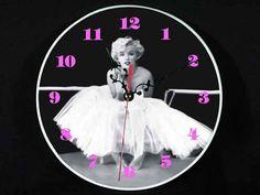 Clock-0654 Marilyn Monroe Bar Pub Wall Clock New Cool Fashion