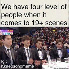 I am Sehun though 😂😂😂 . exo exol xiumin chen chanyeol kai suho sehun baekhyung do weareone jongin kimjongin jongdae kimjongdae kyungsoo dokyungsoo nini kpop exoedit kpopedit funny alwayswithexo weareoneexo exomemes memes 19 yehet kkabesong Exo Memes, Funny Kpop Memes, Kdrama Memes, Kpop Exo, Lol League Of Legends, Fan Fiction, Kyungsoo, Chanyeol, K Pop