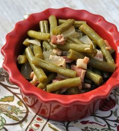 Once you try these Super Southern Green Beans, you'll be hooked. This easy green bean recipe gives you the perfect slow cooker green beans in just 3 easy steps.