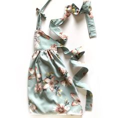 Summer 2018 Handmade Infant and Toddler Maxi Dress for Fashionistas - Flowy, elegant and sophisticated baby fashion maxi dress for Summer 2018. www.instagram.com/littlemissarayashop #flatlay #smallshop #handmadeclothing #babyfashion #girlclothing #girlfashion