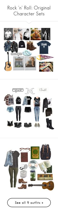 """Rock 'n' Roll: Original Character Sets"" by plussizeextrafashion ❤ liked on Polyvore featuring Beautiful People, Therapy, Superdry, Alta Gracia, H&M, Boohoo, River Island, Vila Milano, Abercrombie & Fitch and GUESS"