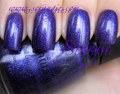 China Glaze Wizard of Ooh C-c-courage nailpolish. #scrangie