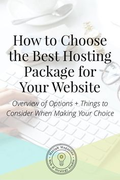 How can you choose the best hosting for your website? This guide gives you an overview of your options and outlines major things to consider. // Mariah Magazine -- #websitetips #websitehosting #business