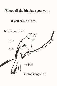 Harper Lee To Kill A Mockingbird Books Quotes