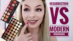Makeup Revolution Flawless 3 RESURRECTION Review Swatches| VS Modern Renaissance - YouTube